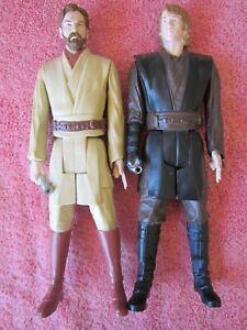 Obi Wan and Anakin Skywalker 12 inch figure