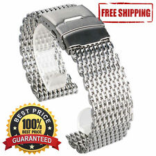 Shark Mesh band (bracelet) 22mm. For Seiko SKX 007 009 and other watch