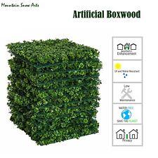 "Artificial Hedges Panels Garden Fencing Backyard home party Decor 20x20""/48pc"