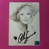 ☆☆☆ Elke Sommer - Original signierte Autogrammkarte, handsigniert, TOP ☆☆☆
