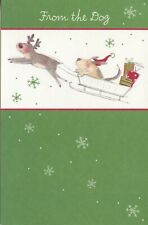 American Greetings Christmas Card: Dog...Have a Paws-itively Wonderful Christmas
