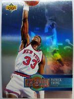 Rare Insert: Patrick Ewing 1993 93 UPPER DECK #H18 HOLOJAM HOLOVIEW CARD!