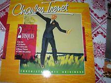 vinyle  33 tours double de Charles Trenet