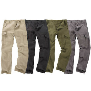 Moleskin Trousers German Army Style Combat Tough Work Fishing Camping Pant New