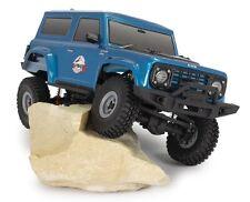 FTX Outback Mini CUB Azul (Jeep Wagon X) 1:18 listo para correr Rock Crawler