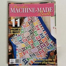 Machine Made Quilts Patchwork & Quilting Mag Patterns Sewing Craft Technique No1