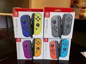 New Nintendo Switch Joy Con Wireless Controller - Various Colors Available