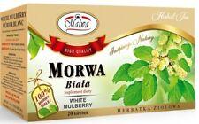 Malwa Morwa Biata WHITE MULBERRY Polish Herbal Tea Poland 20 Tea Bags US Seller