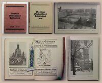 Dresdner Studentisches Taschenbuch 1926/27 TU Dresden alte Reklame Studienführer