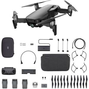 DJI Mavic Air 4K Drone Fly More Combo - Onyx Black - (AU Stock) Brand New Sealed