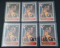 1996-97 Topps Chrome Kobe Bryant Reprint 6 Card Lot