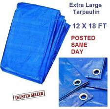 Tarpaulin For Decorating Extra Large Tarp Cover Ground Sheet Floor Waterproof