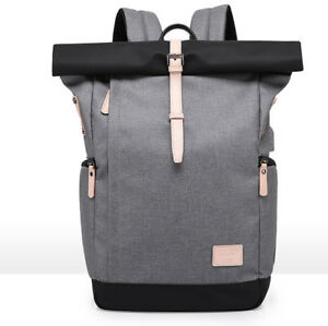 KAKA Laptop Backpack 15.6/16 Inch for Men and Women,Large Roll-top Anti-theft Ba