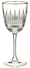 """*NEW* Waterford """"Lismore Diamond Gold"""" Goblet / Red Wine Glass *NWT*"""