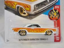 1968 Plymouth Barracuda Formula S 1/64 Scale Diecast Model From Hot Wheels