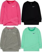 Brand New Nike Girls' Layered-Hem Sport Top T-Shirt Sizes S, M, L, and XL