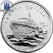 Kanada 1 Dollar Silber 2010 PP 100 Jahre kanadische Navy  HMCS Sackville