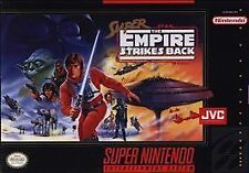 Super Star Wars The Empire Strikes Back Super Nintendo Entertainment System SNES
