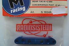 RADIOSISTEMI SVM RACING CONVERGENZA POST +2 ALL  REAR TOE IN +2 MM  ART S1834A