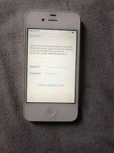 Apple iPhone 4s - 16GB - Weiß (Ohne Simlock) A1387 (CDMA + GSM)  iCloud Sperre