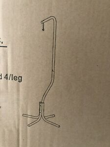 Prevue Hendryx Hanging Bird Cage 4 Leg Stand -  Black 1780 New