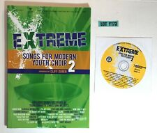 Extreme Songs For Modern Chior 2 By Cliff Duren 2015 Paperback + CD Lot Y173