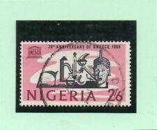 Nigeria 20 Aniversario UNESCO año 1966 (DK-143)