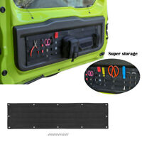 Black Tailgate Storage Bag Case Cover Tool Organizer For Suzuki Jimny 2019 2020