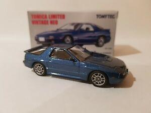 Tomica Limited Vintage 192B MAZDA SAVANNA RX-7 GT-X (BLUE) NEAR MINT VHTF