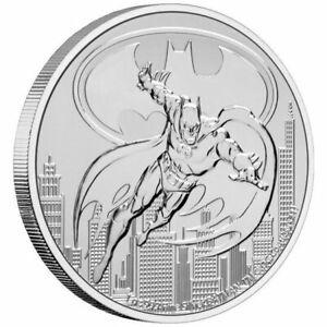 2021 Niue 1 oz Silver $2 DC Comics Justice League: Batman