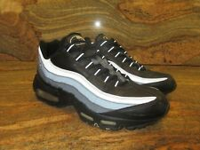 UNRELEASED 2006 Nike Air Max 95 Leather Sample SZ 9 Black Sliver LEA 609048-009