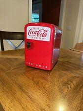 New listing Rare Coca Cola 6 can mini fridge