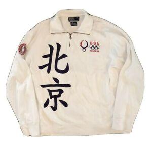 Polo Ralph Lauren Pullover Sweatshirt 2008 Beijing Olympics Mens XL 08 China