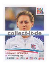 Panini Frauen WM World Cup 2015  - Sticker 255 - Meghan Klingenberg