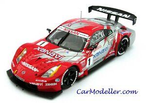 Ebbro Nissan Xanavi Nismo Z Japan GT Championship 2004 #1 1:43 scale #43606