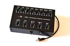 8 Band Sound Equalizer Echo Compressor to ICOM Radio RJ-45 mic transceiver IC-