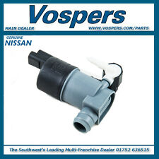 Genuine Nissan Qashqai J10 Windscreen Window Washer Pump. New, 28920BU010