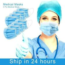 Face Mask x 10  Protective Covering Mouth Masks UK