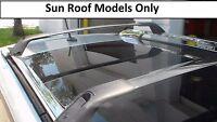 Genuine Kia Sorento Chrome Roof Rack Cross Bars OEM 1U021ADU11 with Sunroof