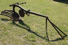 "Ih McCormick Farmall A 12"" 1 Bottom Slatwing Flat Bottom Moldboard Turning Plow"