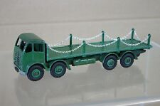 DINKY 505 GREEN FODEN FLAT TRUCK LORRY with CHAINS NICE mw