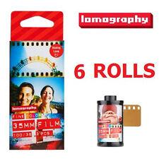 Lomography LOMO Color Negative (iso 100) 135 35mm Film F3361 x 6 roll