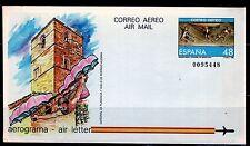 ESPAÑA AEROGRAMAS 1986 11 1v.