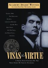 VISAS AND VIRTUE DVD Limited Free Ship Academy Award® short film Chiune Sugihara
