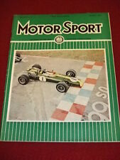 MOTORSPORT - NOV 1966 VOL XLII # 11