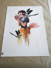 THEY'LL RIP YOUR HEART OUT MISS BUGS POSTER PRINT HAND FINISHED VARIED EDITION