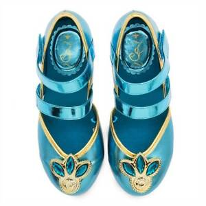 NWT Disney Store Jasmine Costume Shoes many sizes Princess Aladdin