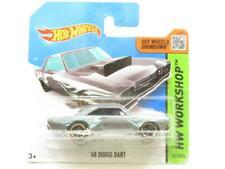 Hotwheels 68 Dodge Dardo 211/250 BFD90 Corta Tarjeta 1 64 Escala Precintado