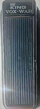1969 King Vox Wah Pedal once owned by Bruce Johnston Beach Boys Italy JEN Bag