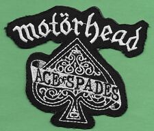 "New Motorhead 'Ace of Spades' 4 1/4 X 4 1/2  "" Inch Iron on Patch Free Shipping"